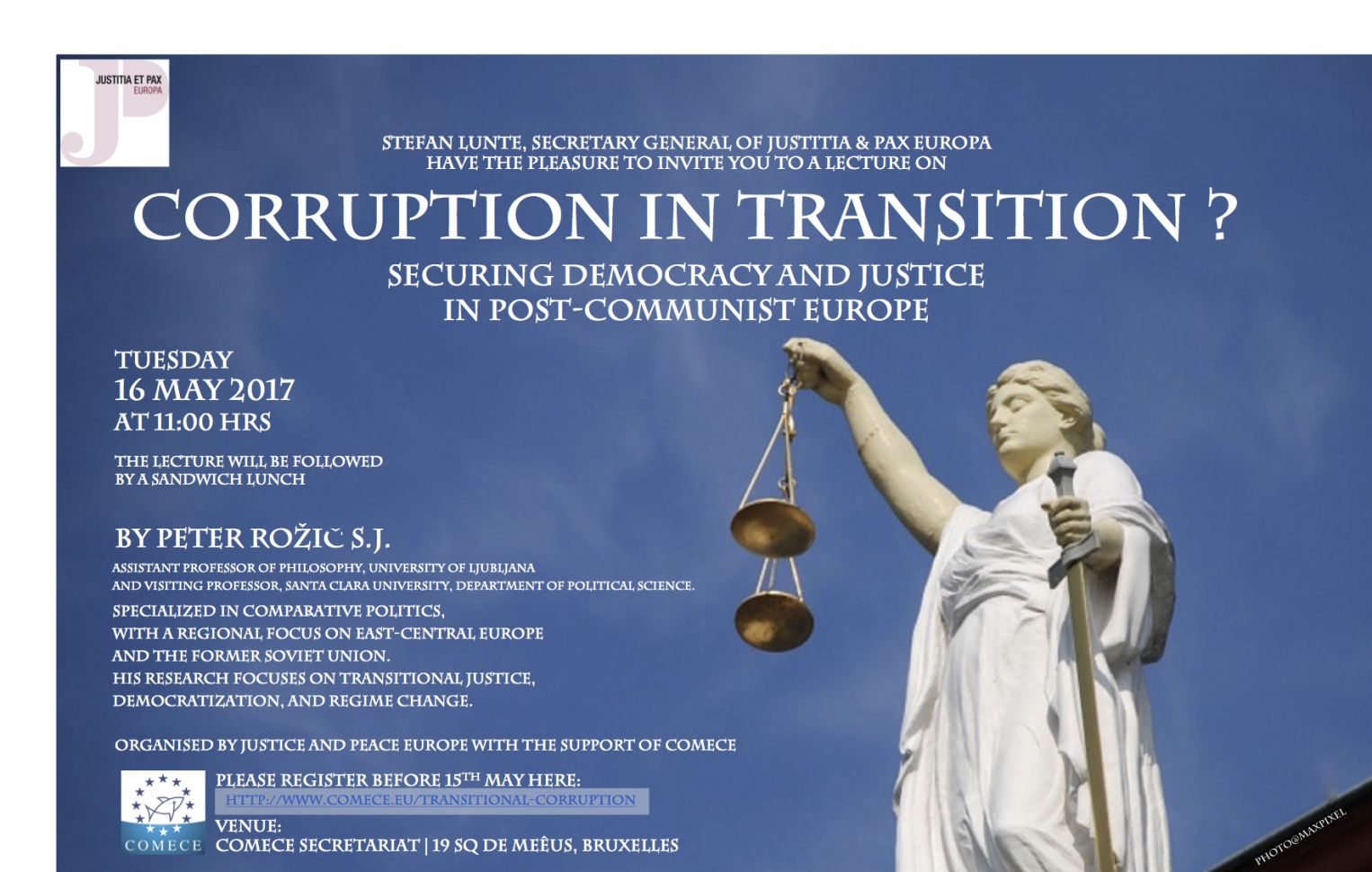 Transitional Corruption? - Securing Democracy and Justice in Post-Communist Europe